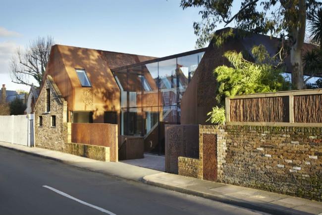 Частный дом  Kew House © Jack Hobhouse
