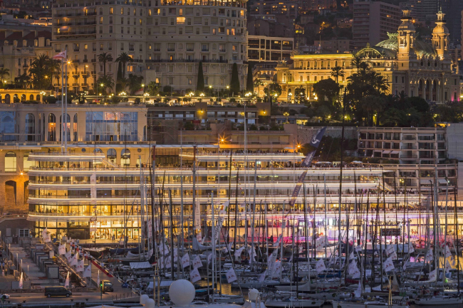 Яхт-клуб Монако © Nigel Young / Foster + Partners