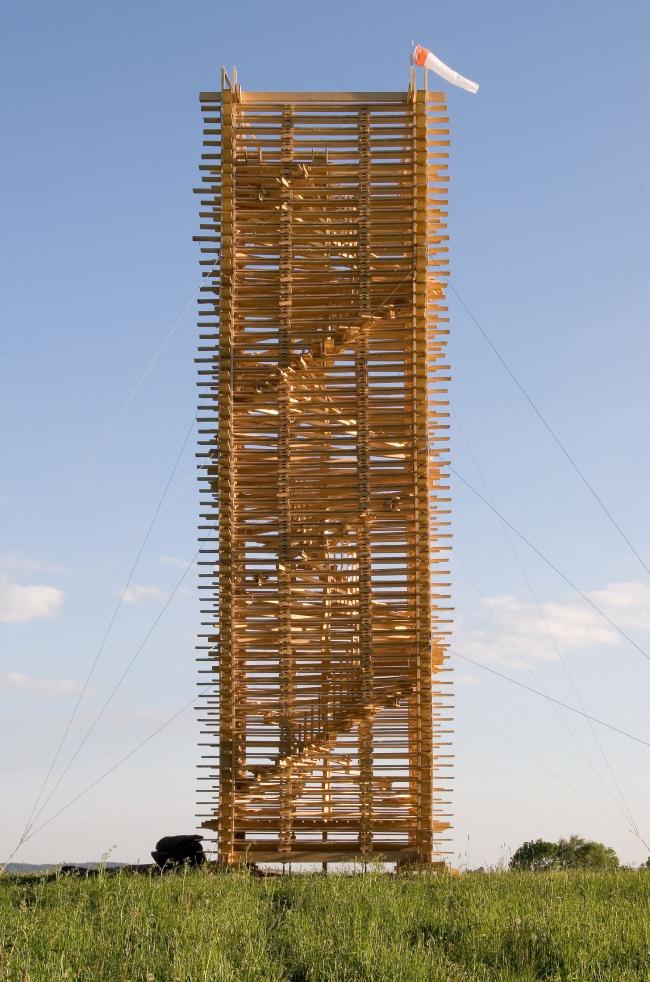 Башня Шолцберг. Фото предоставлено Галереей ВХУТЕМАС