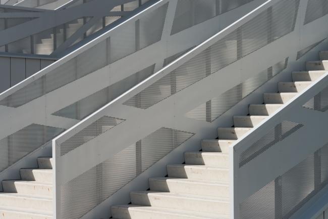 VTB Ice Palace. Stairway. Photo © Ilia Ivanov