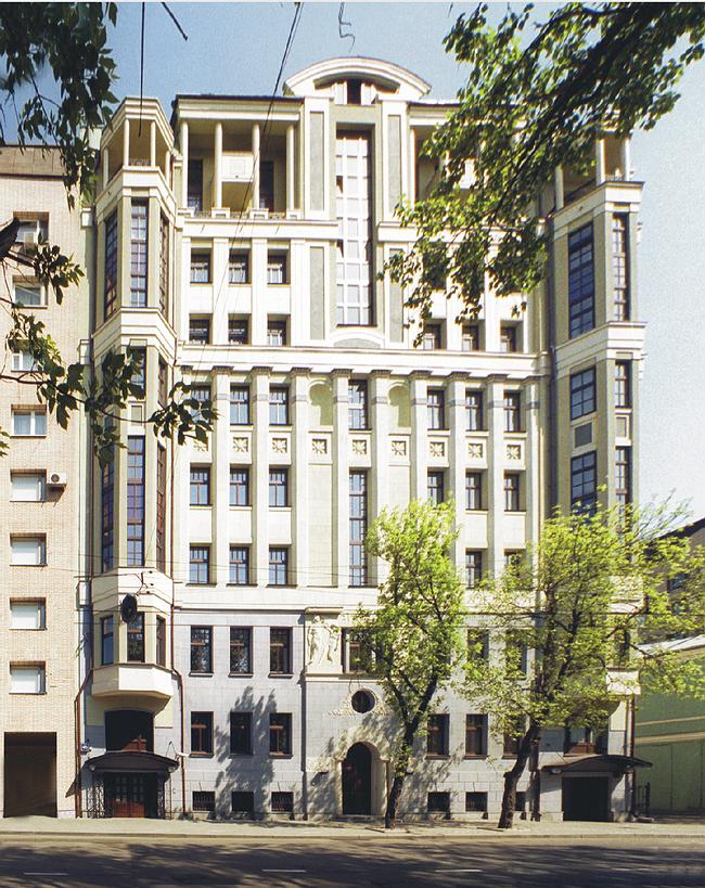 Реконструкция жилого дома на 3-ей Тверской-Ямской