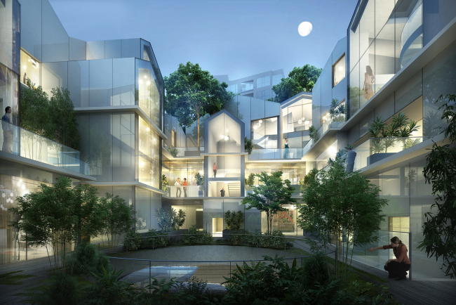 Жилой комплекс 8600 Wilshire © MAD Architects