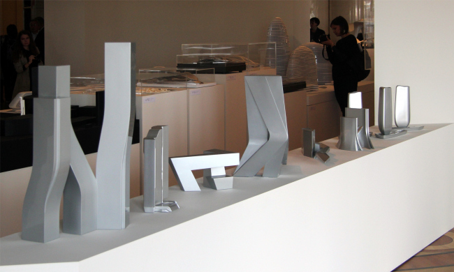 Ретроспективная выставка Захи Хадид в Государственном Эрмитаже. Фотография © Павел Олигорский, archi.ru