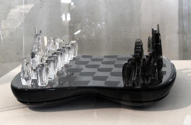 """Шахматы «Поле башен». Ателье """"ZHD"""". 2014. Фотография © Павел Олигорский, archi.ru"""