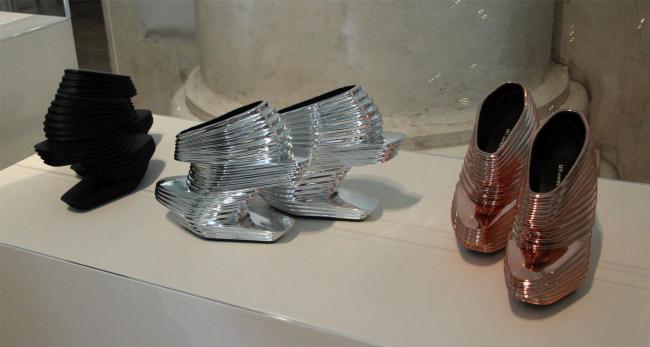 Туфли. Заха Хадид для United Nude. Фотография © Павел Олигорский, archi.ru