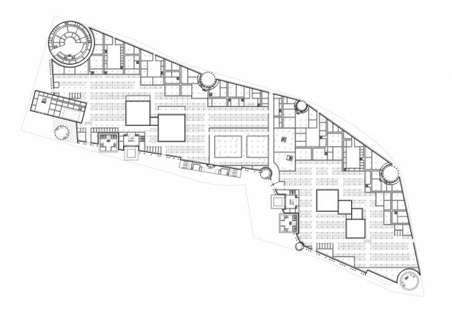 Проект Парламентского центра Российской Федерации. План первого уровня