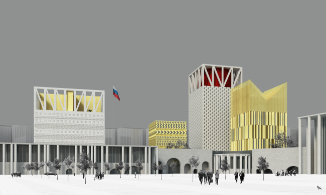 Проект Парламентского центра Российской Федерации © Студия 44
