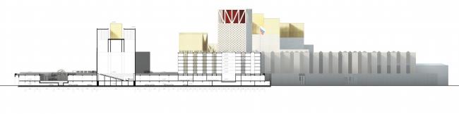 Проект Парламентского центра Российской Федерации. Разрез