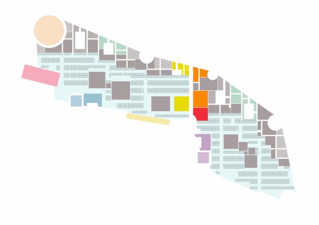 Проект Парламентского центра Российской Федерации. Схема первого уровня