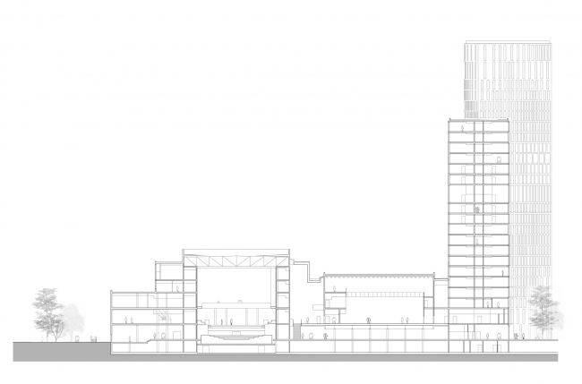 Комплекс Malmö Live © schmidt hammer lassen architects