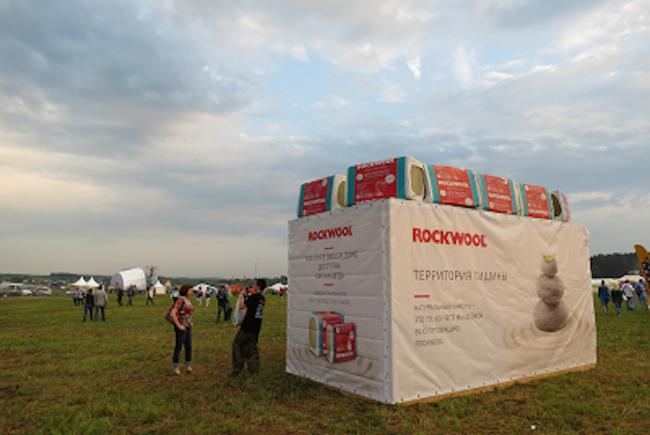 Звукоизоляционные технологии от компании ROCKWOOL на фестивале «Дикая Мята» © ROCKWOOL