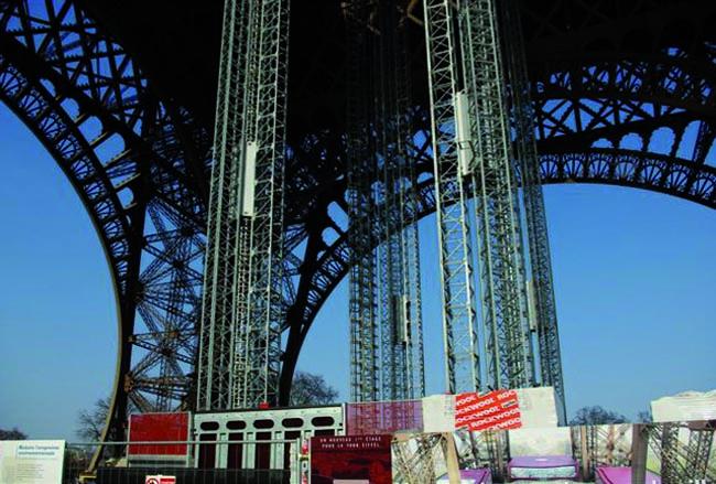 Реконструкция Эйфелевой башни. Фото предоставлено компанией Rockwool