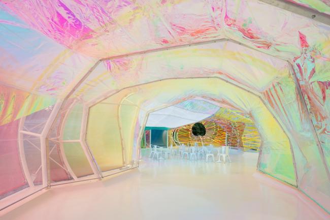Летний павильон Галереи Серпентайн 2015 © Iwan Baan