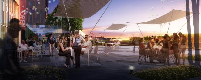 Концепция реорганизации набережной «Ривер Парк» © Turenscape