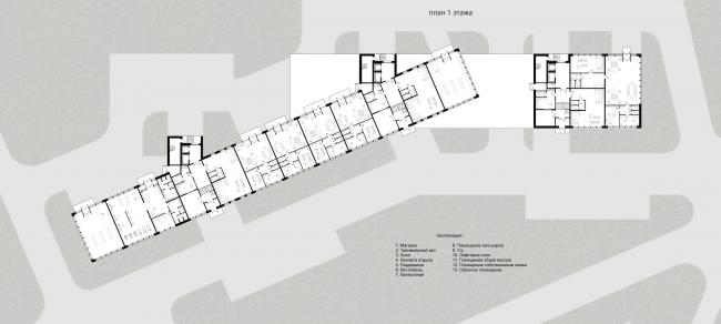Проект многоквартирного жилого дома. Автор: Вилен Галимов, студент 1 группы, 4 курса