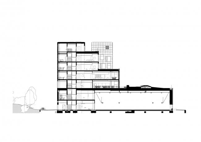Международная школа в районе Норхаун © C.F. Møller Architects