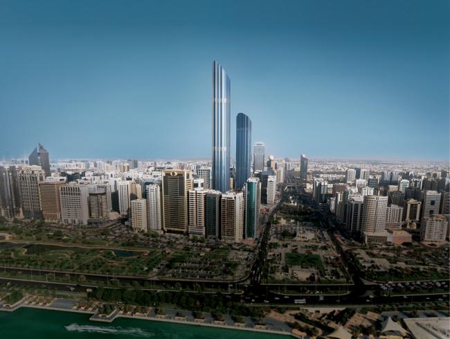 Башня Burj Mohammed Bin Rashid в Абу-Даби © Foster + Partners
