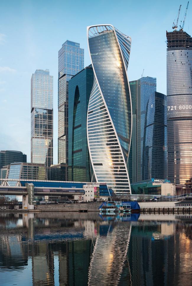 башня «Эволюция» в ММДЦ «Москва-Сити» © GORPROJECT