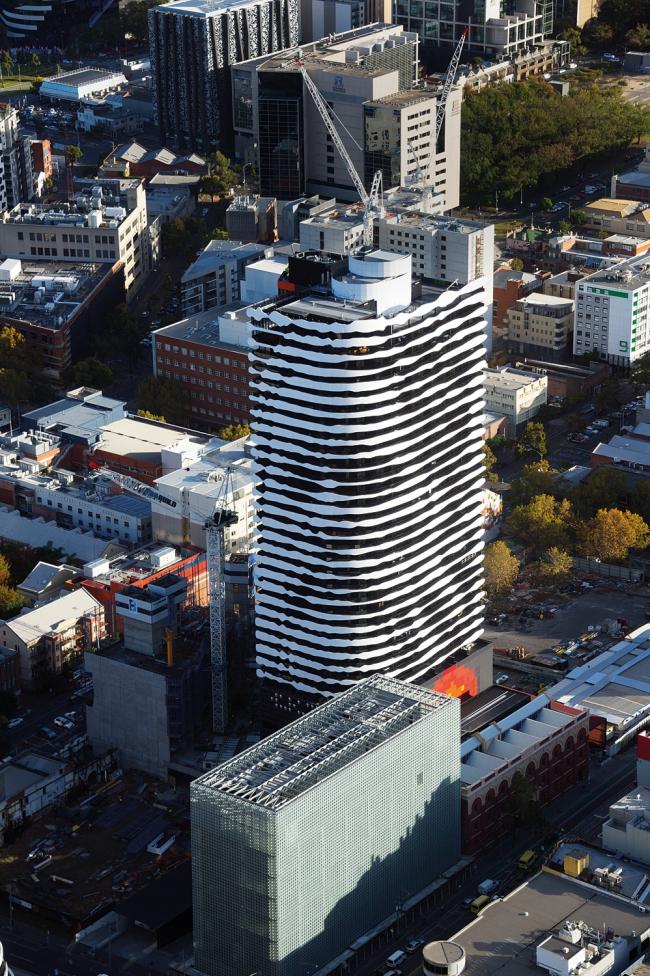 Здание Swanston Square в Мельбурне © John Gollings