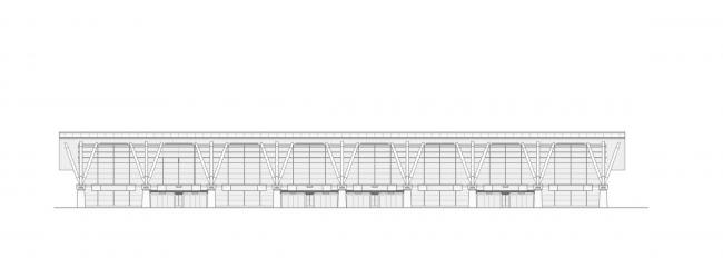 """Sea passenger terminal. Facade © """"A.Len"""""""