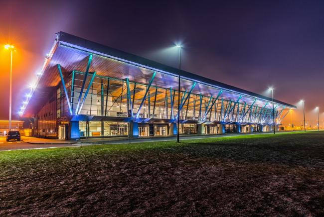 Морской пассажирский терминал. Вокзал №1 (круизный) © «А.Лен»