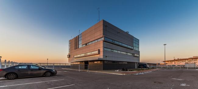 """Sea passenger terminal. Control building © """"A.Len"""""""