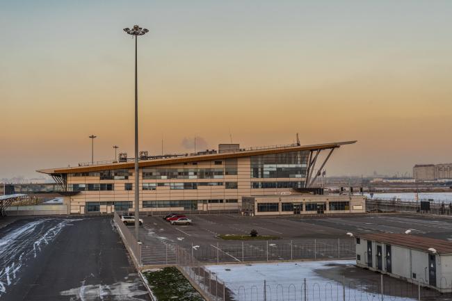 """Sea passenger terminal. Terminal #3 (ferry) © """"A.Len"""""""
