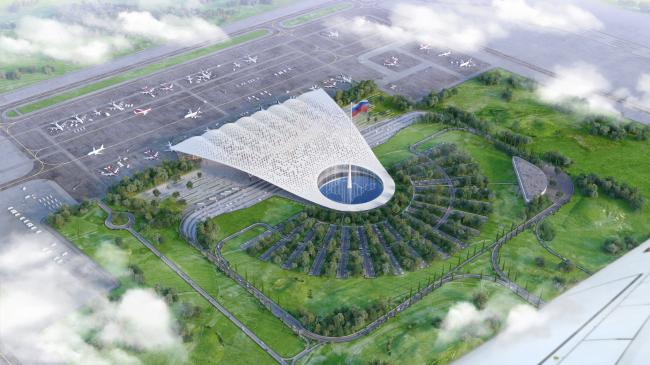 Международного аэропорта «Симферополь» © UNK project