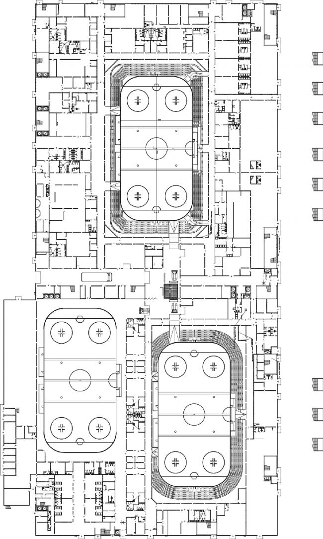ВТБ Ледовый дворец. План © SPEECH
