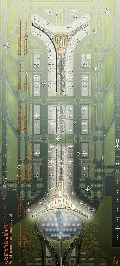Международный Аэропорт Пекина - Терминал 3. Проект