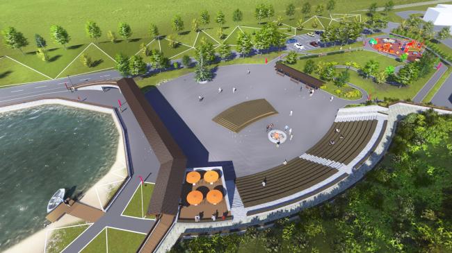 Концепция развития парковой территории ЖК «Пригородный простор» © ADAPTIK-A