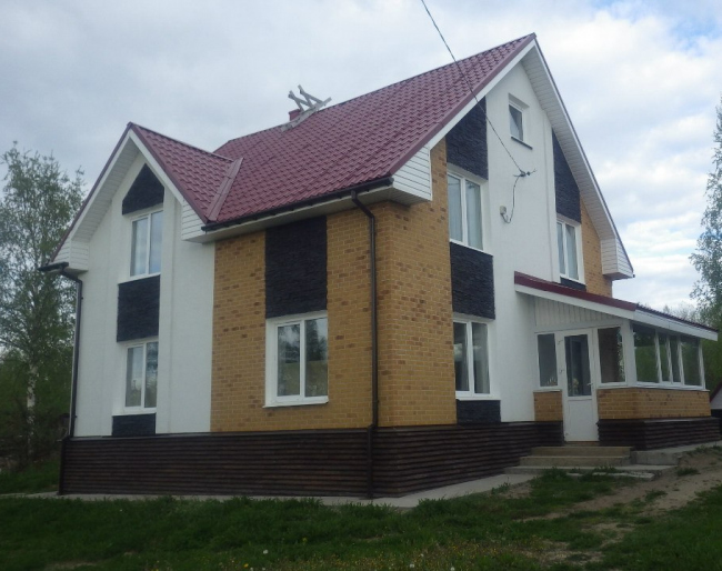 Дом победителя конкурса Романа Большакова. Фотография с сайта slav-dom.ru