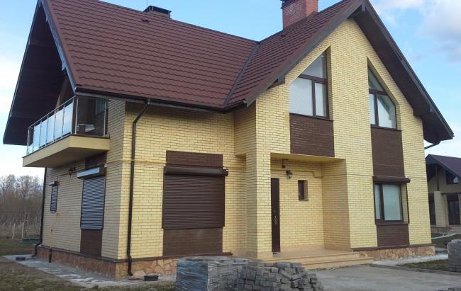 Дом Леонида Малахова (третье место). Фотография с сайта slav-dom.ru