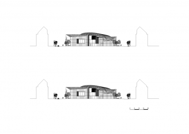 Культурный центр La Grande Passerelle © Architecture-Studio