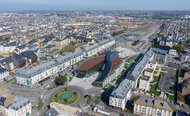 Культурный центр La Grande Passerelle. Фото: Mereglier-Coudrais © Architecture-Studio