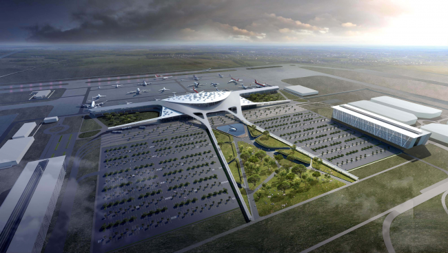 Simferopol International Airport © Asadov Architectural Bureau