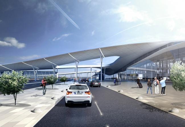 Simferopol International Airport © Asadov Architectural Bureau