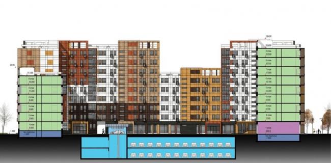 Панельная серия жилых домов «ДОММОС» © «ГВСУ-центр»