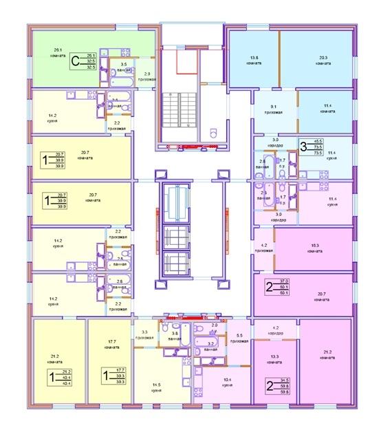 Панельная серия жилых домов © «СУ-155»