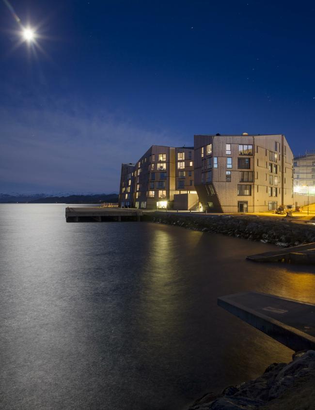 Жилой комплекс Waterfront © Adam Mørk