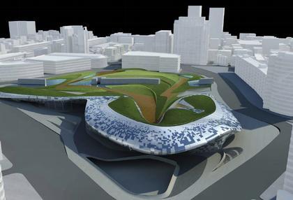 Дондэмун Дизайн Плаза и Парк. Проект 2007