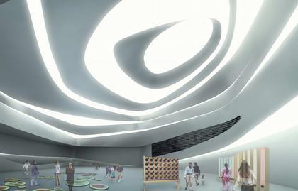 Дондэмун Дизайн Плаза и Парк. Проект 2007. Выставочный зал