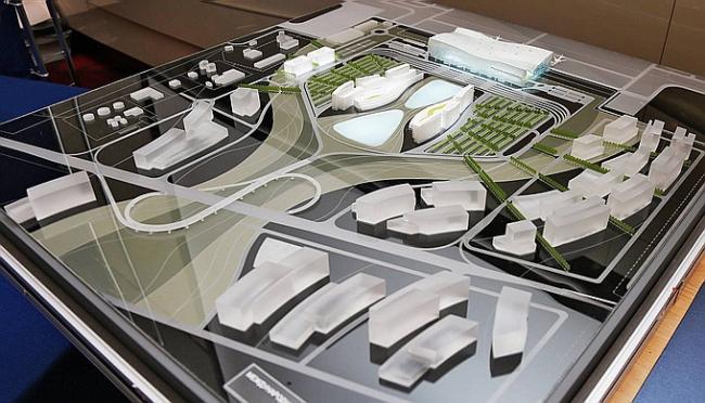 Проект «корейского архитектора», победивший в конкурсе на проект аэропорта в Симферополе. Фотография: пресс-служба Сергея Аксенова