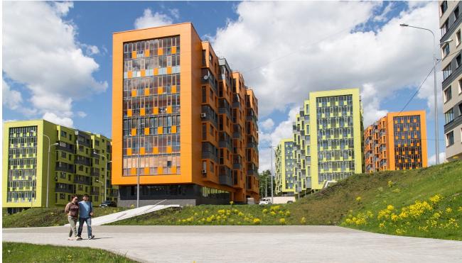Жилой комплекс «Лесной уголок» в Химках. Фото © Ирина Кудрявцева. Предоставлено АБ «Рождественка»