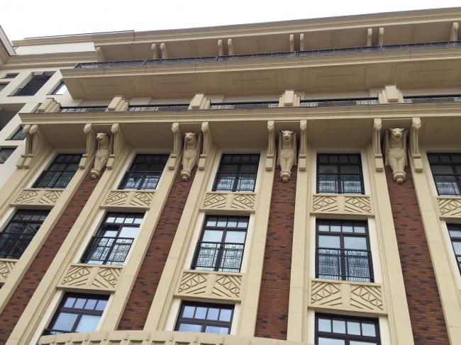 Жилой комплекс «Дом при Академии Наук» © Мезонпроект