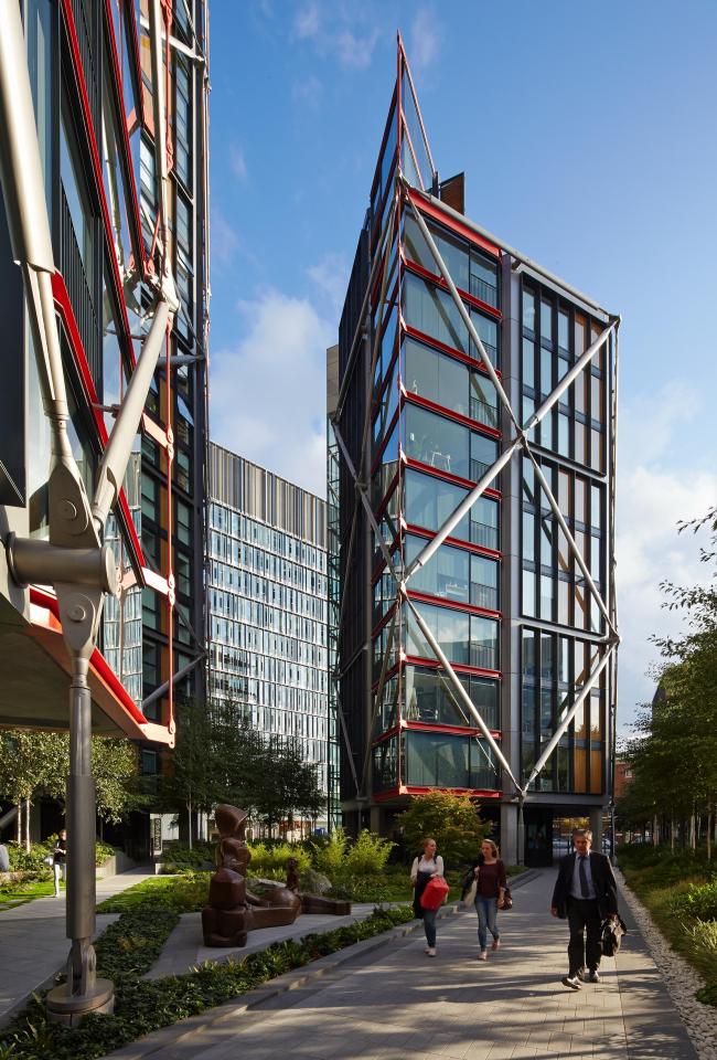 Жилой комплекс NEO Bankside © Edmund Sumner