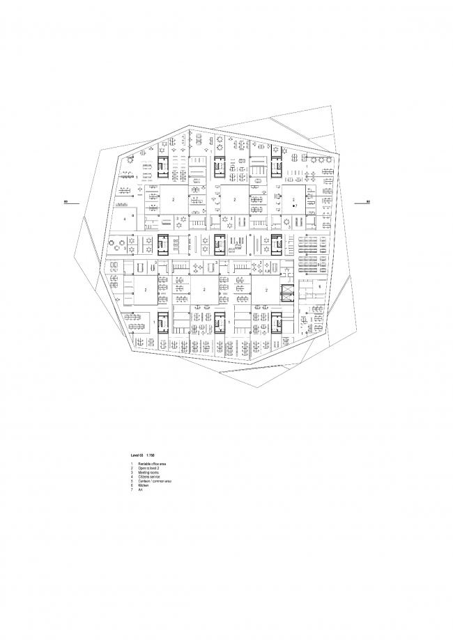 Библиотека Dokk1 © schmidt hammer lassen architects