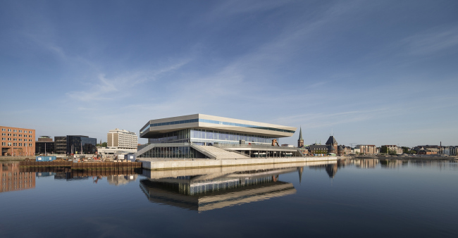 Библиотека Dokk1 © Adam Mørk