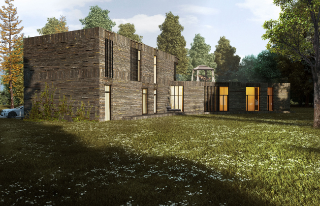 A private house in London′s Green Belt © PANACOM