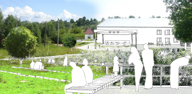 Изображение предоставлено «Архитектурным бюро Практика»